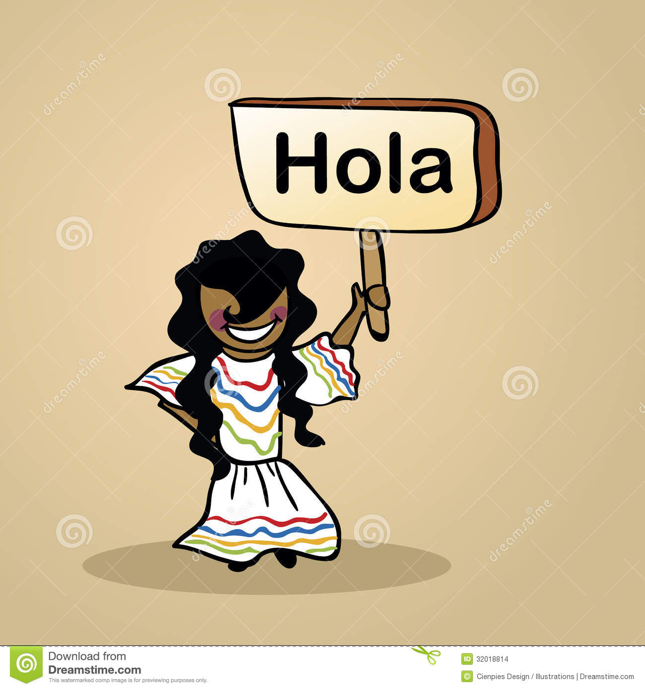 Hello From Mexico People Design Stock Images - Image: 32018814
