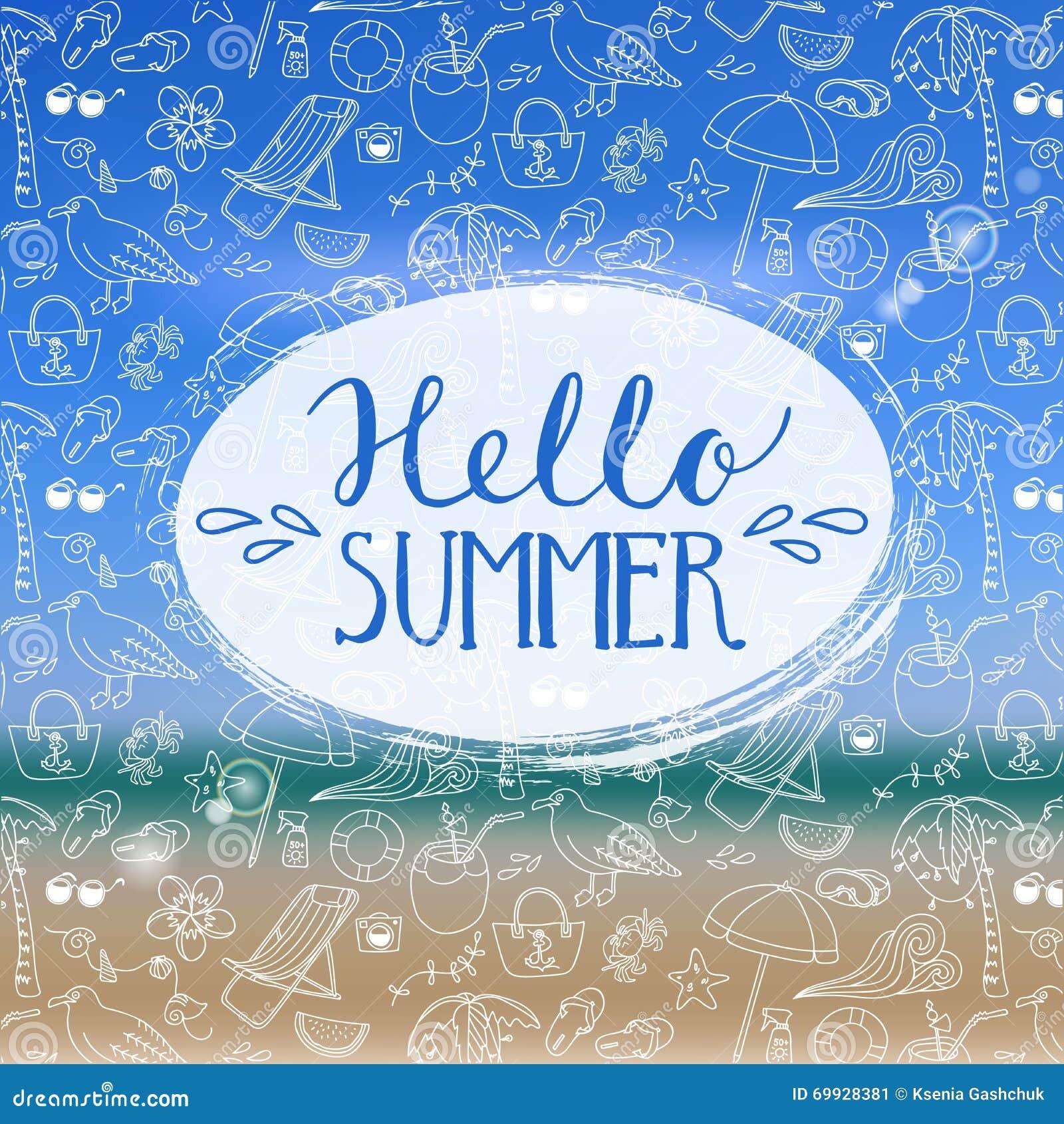 Hello sommar