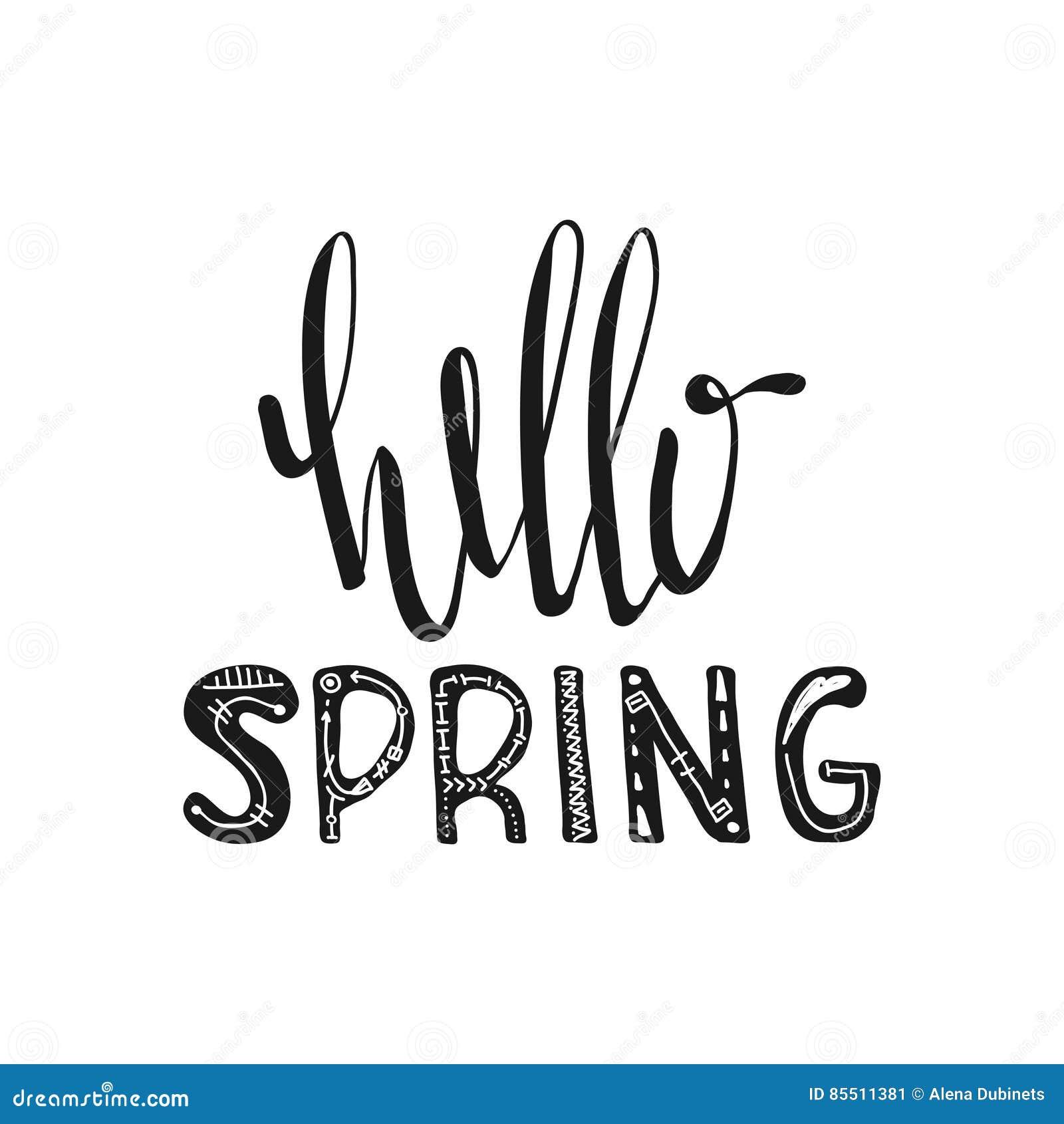 Hello spring  Motivati...