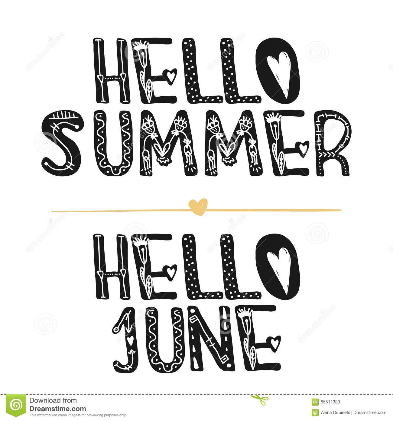 Hello Summer Hi June Motivational Quotes Sweet Cute Inspiration