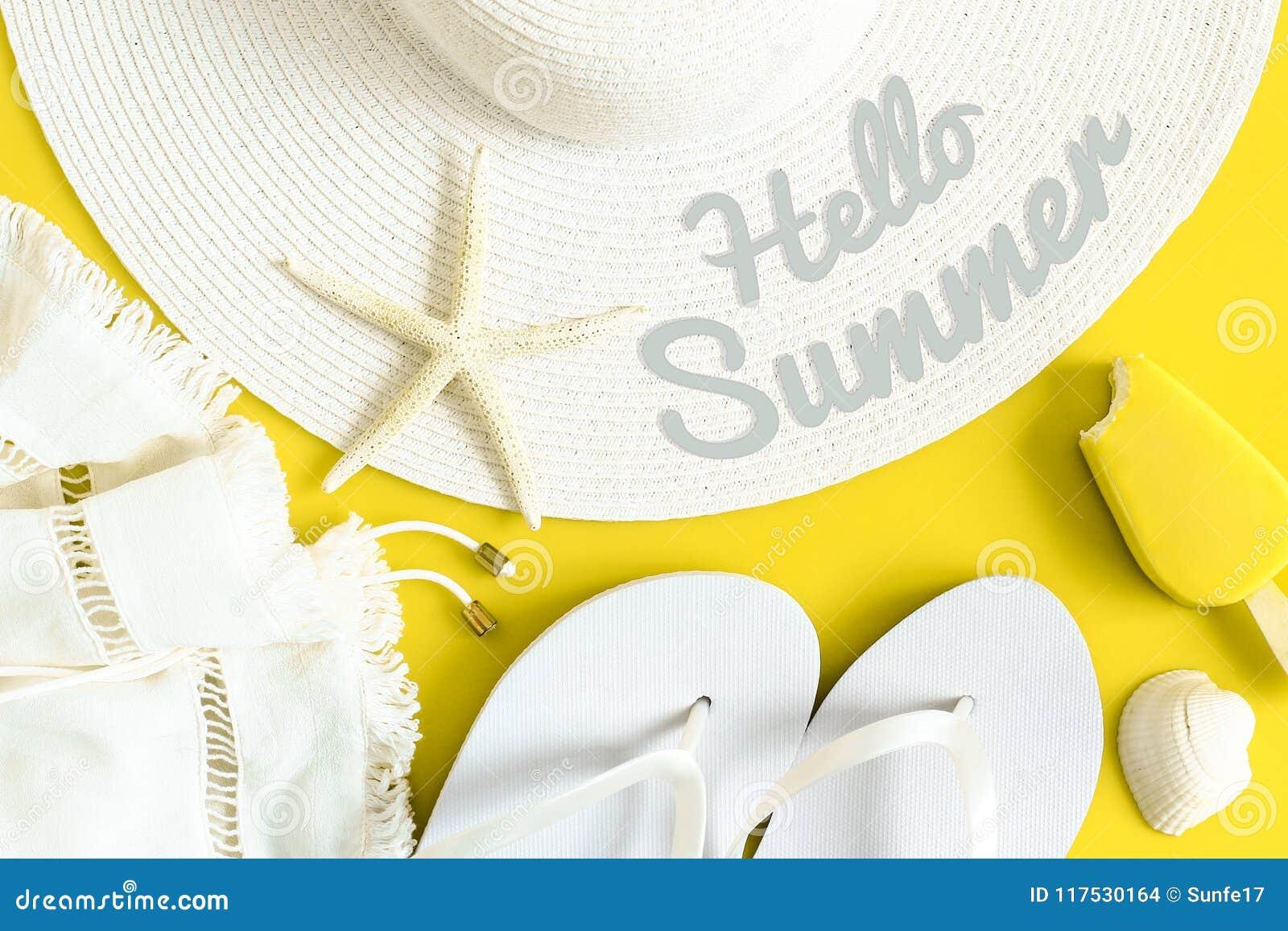46f967d89cc Hello Summer Text On Sun Hat