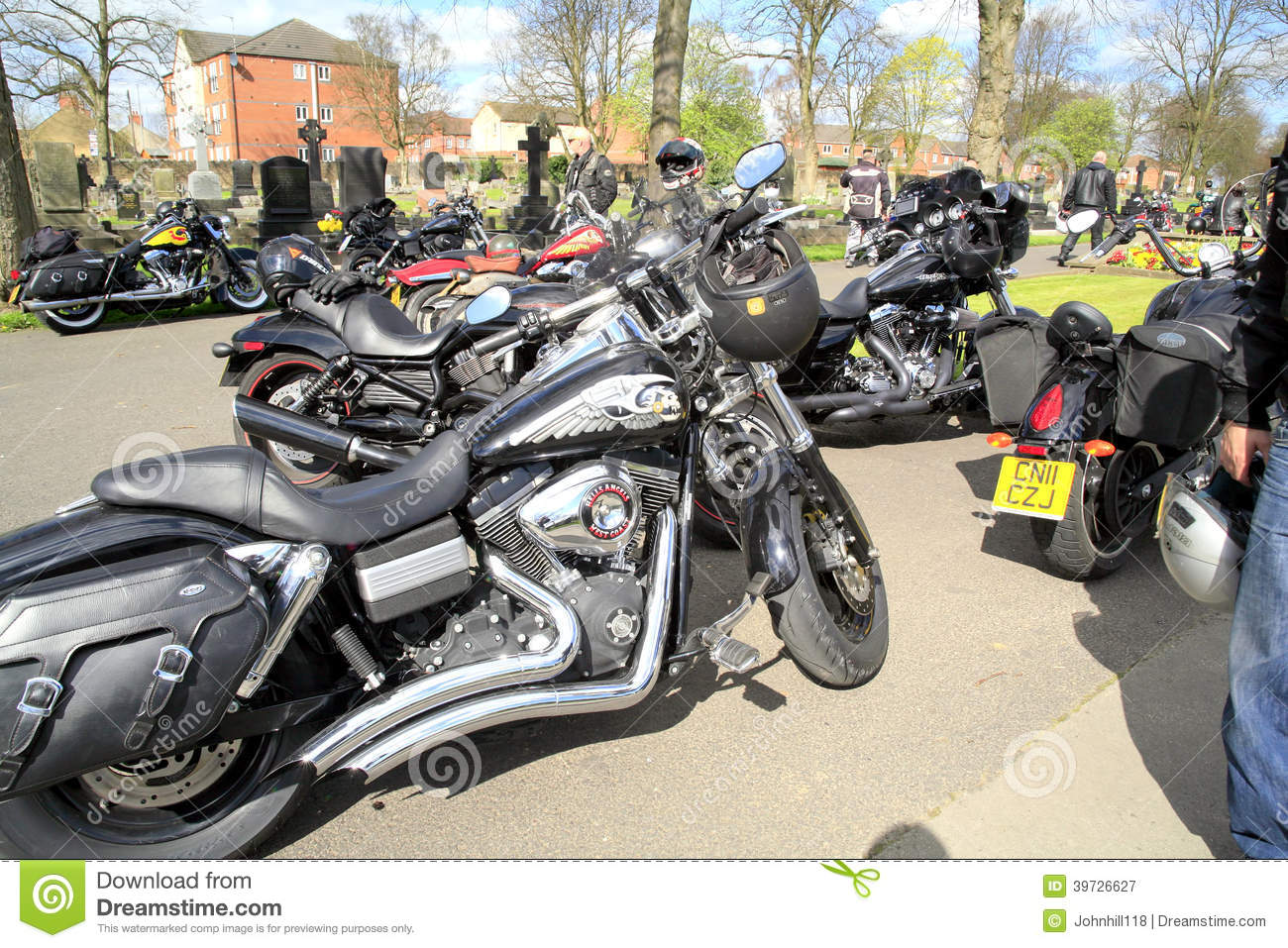 Hells Angel motorcycles  editorial photography  Image of