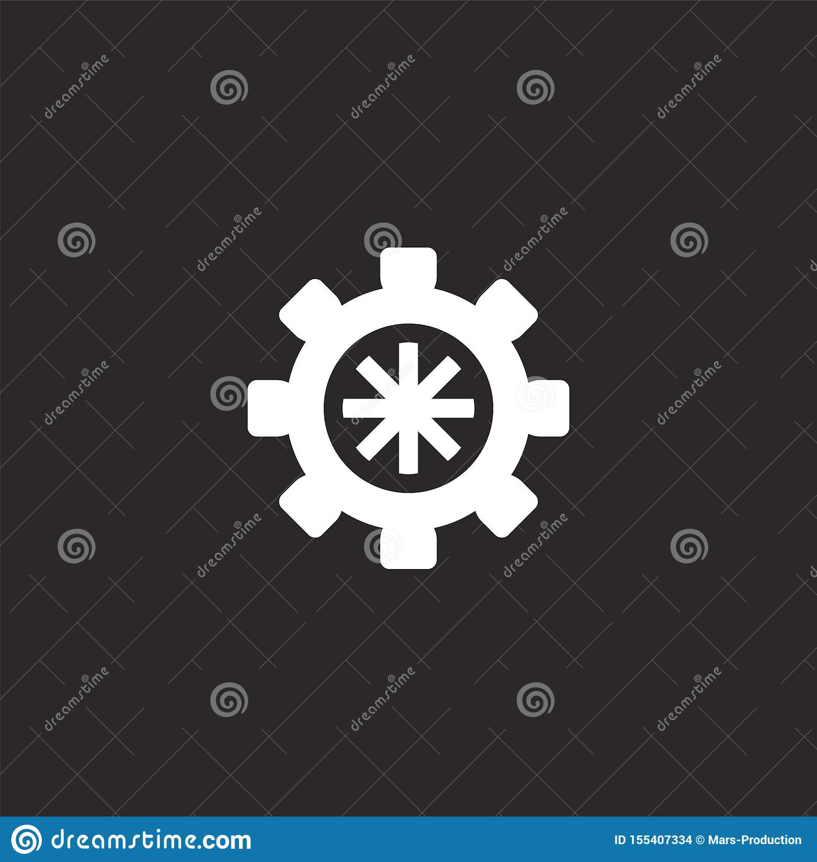 helm icon. filled helm icon for website design and mobile