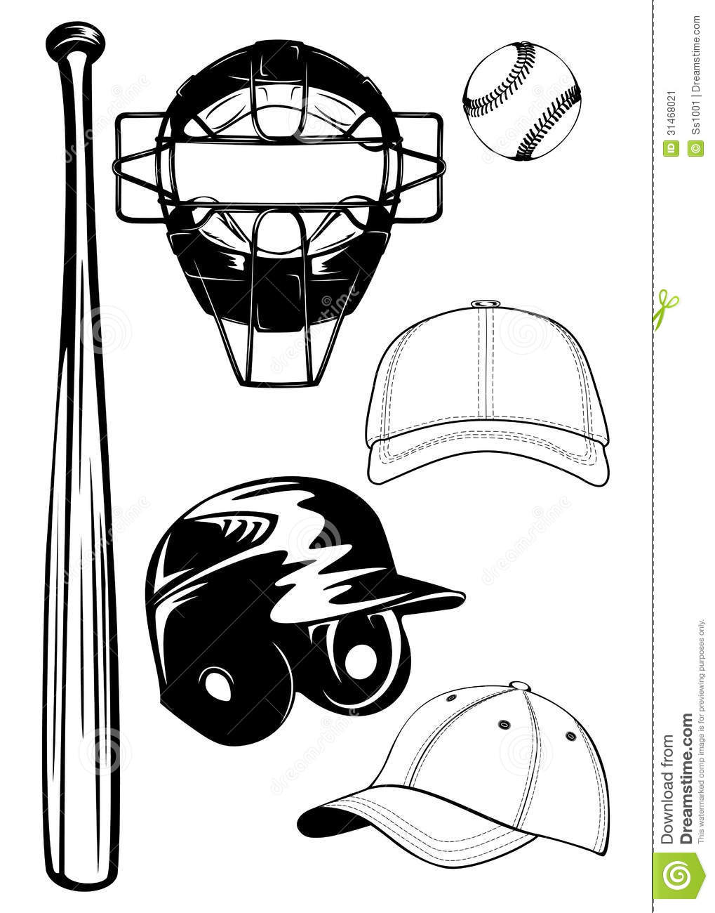 Catcher Mask Clipart 76910 Applestory