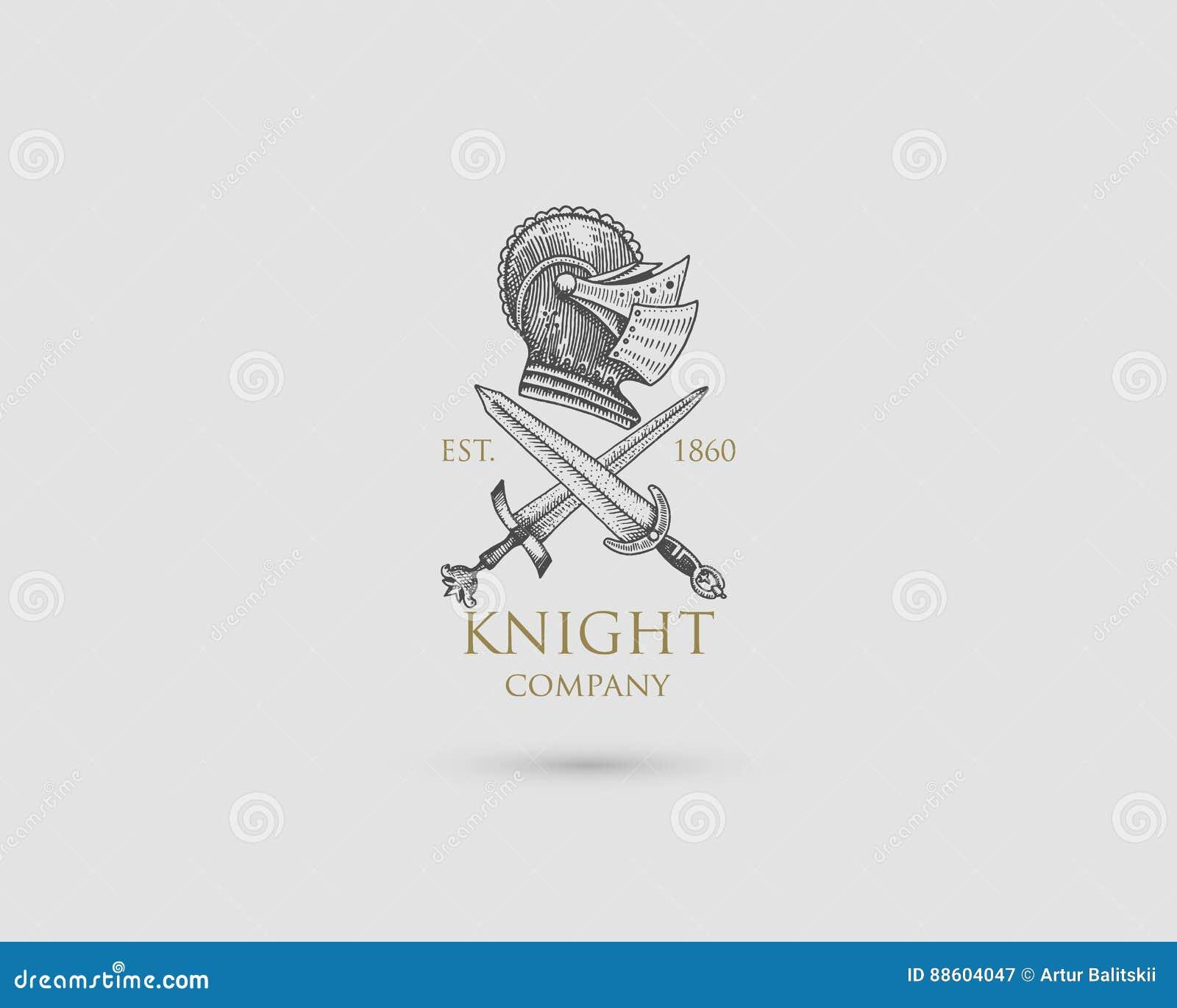 Helmet logo medieval knight antique vintage symbol engraved hand helmet logo medieval knight antique vintage symbol engraved hand drawn in sketch or wood biocorpaavc Gallery