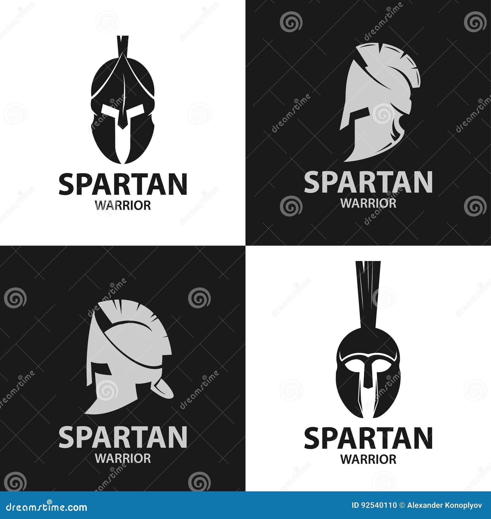 Helmets spartan warriors icon stock vector illustration of helmets spartan warriors icon biocorpaavc