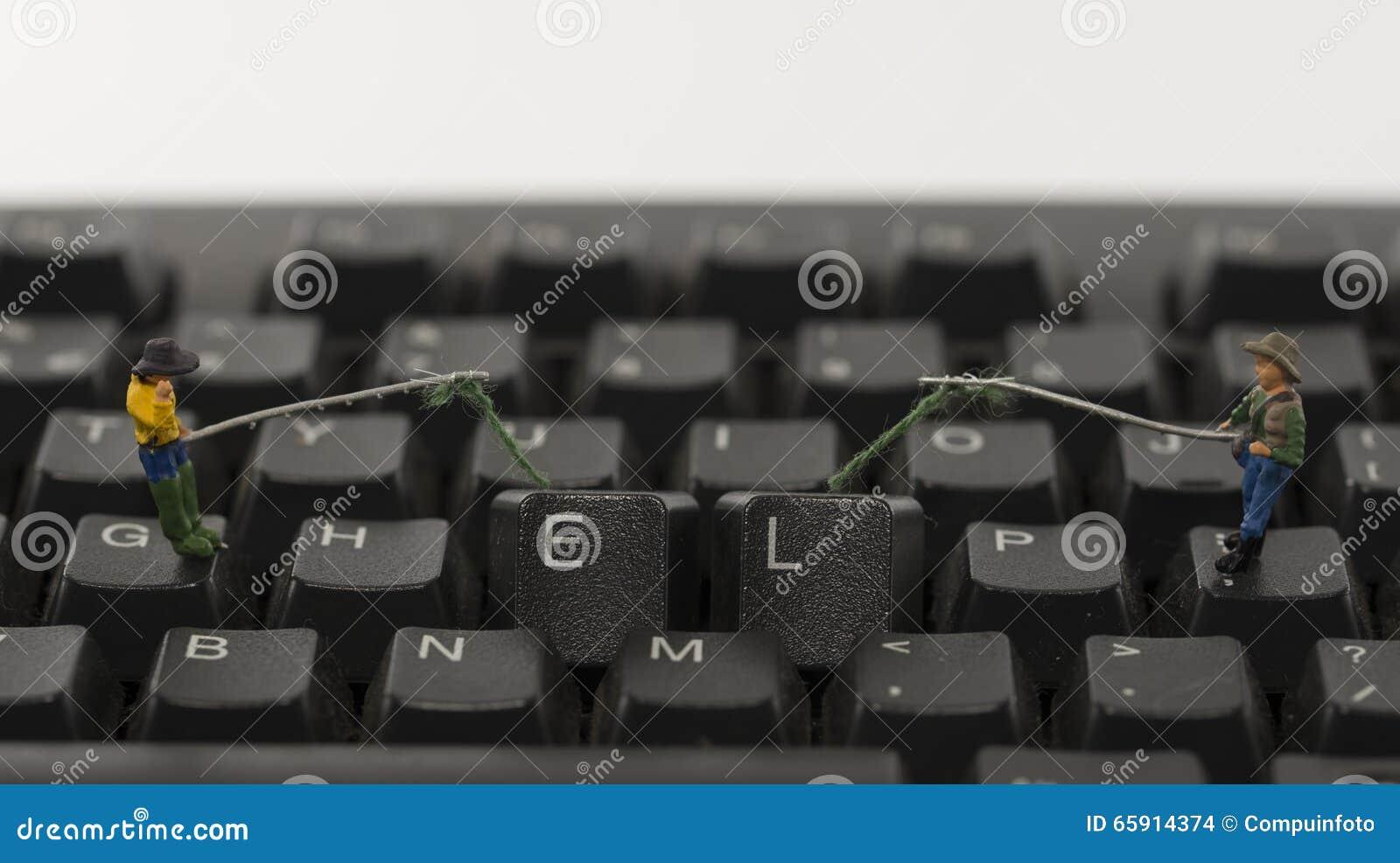 Help Computer Hacking Stock Photo - Image: 65914374