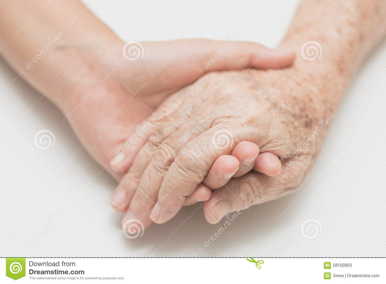 Help concept,The helping hands for elderly home care, Holding hand ...