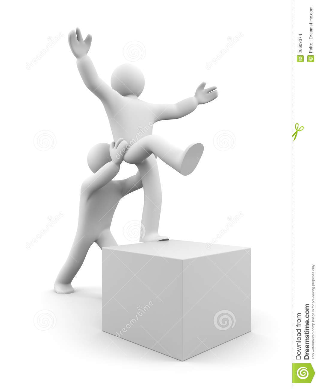 Helping Each Other: Help Each Other Stock Images