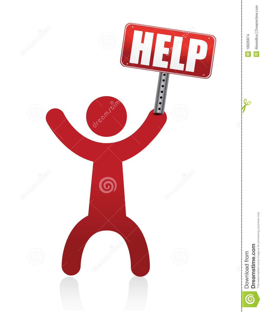 Help Icon Person Stock Vector  Illustration Of Admin