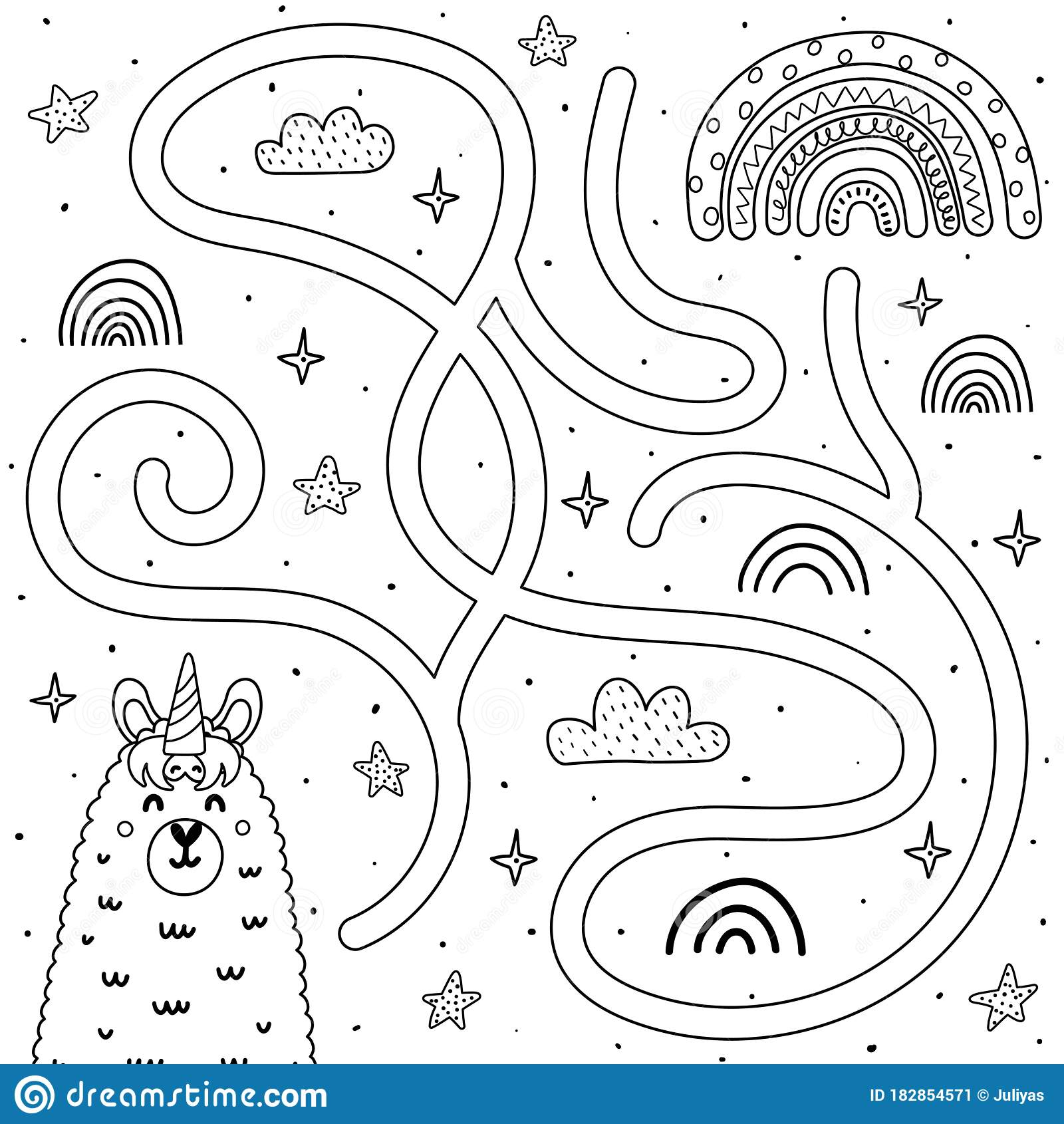 Rainbow Colouring Page Stock Illustrations 63 Rainbow Colouring Page Stock Illustrations Vectors Clipart Dreamstime