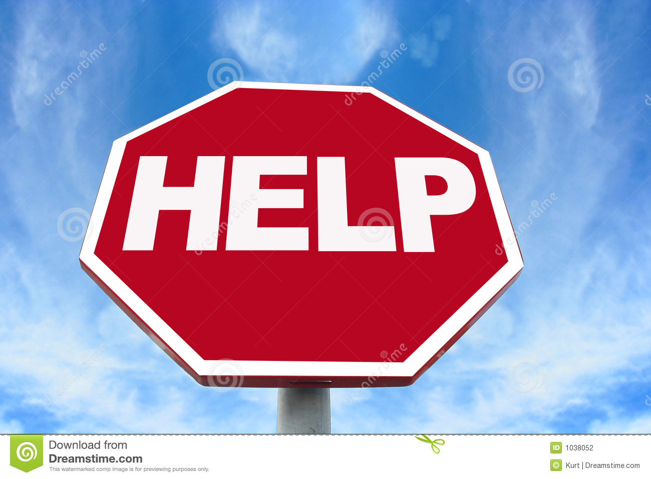 help sign stock photography image 1038052