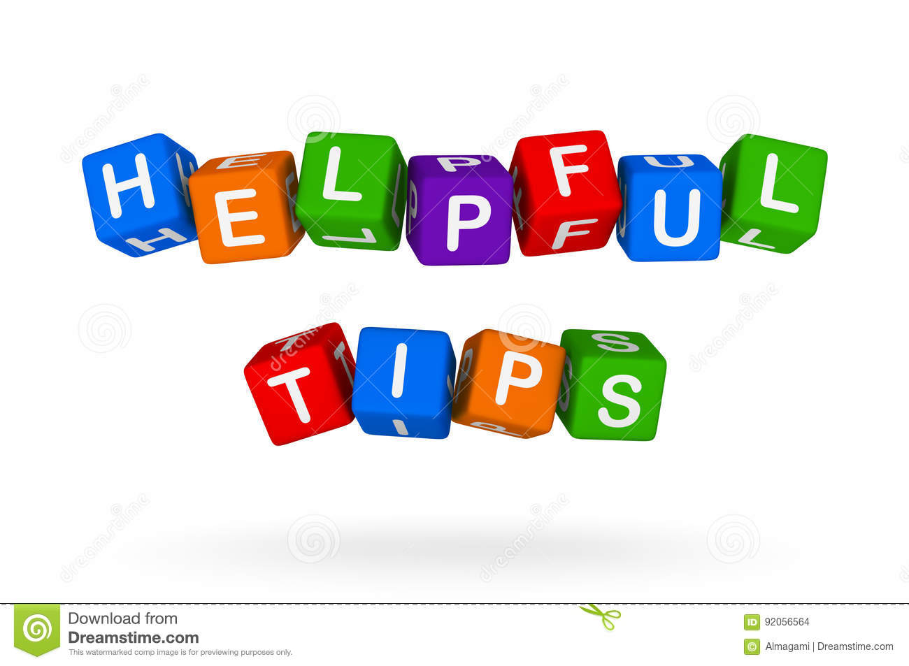 Flat helpful tips concept | Free Vector