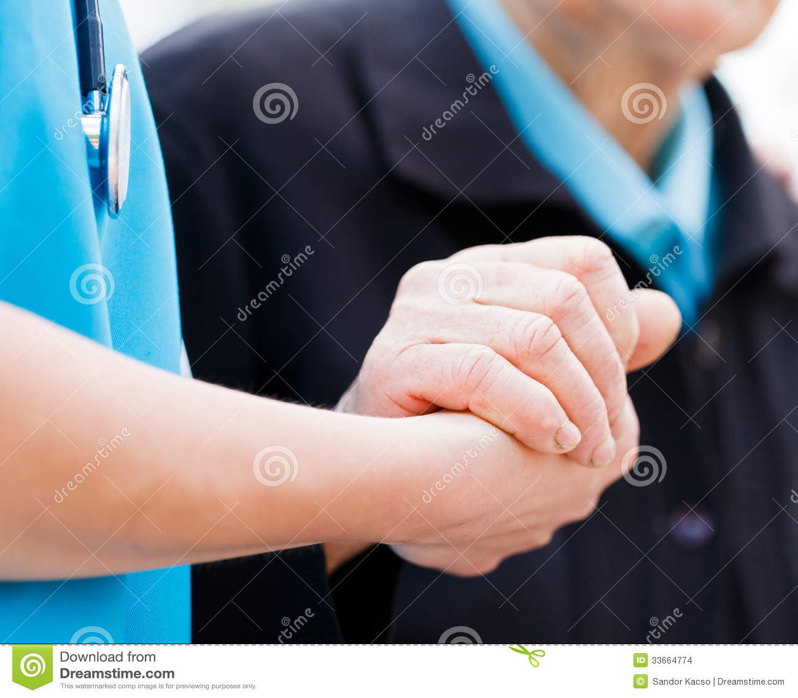 Helping Elderly Stock Images - Image: 33664774