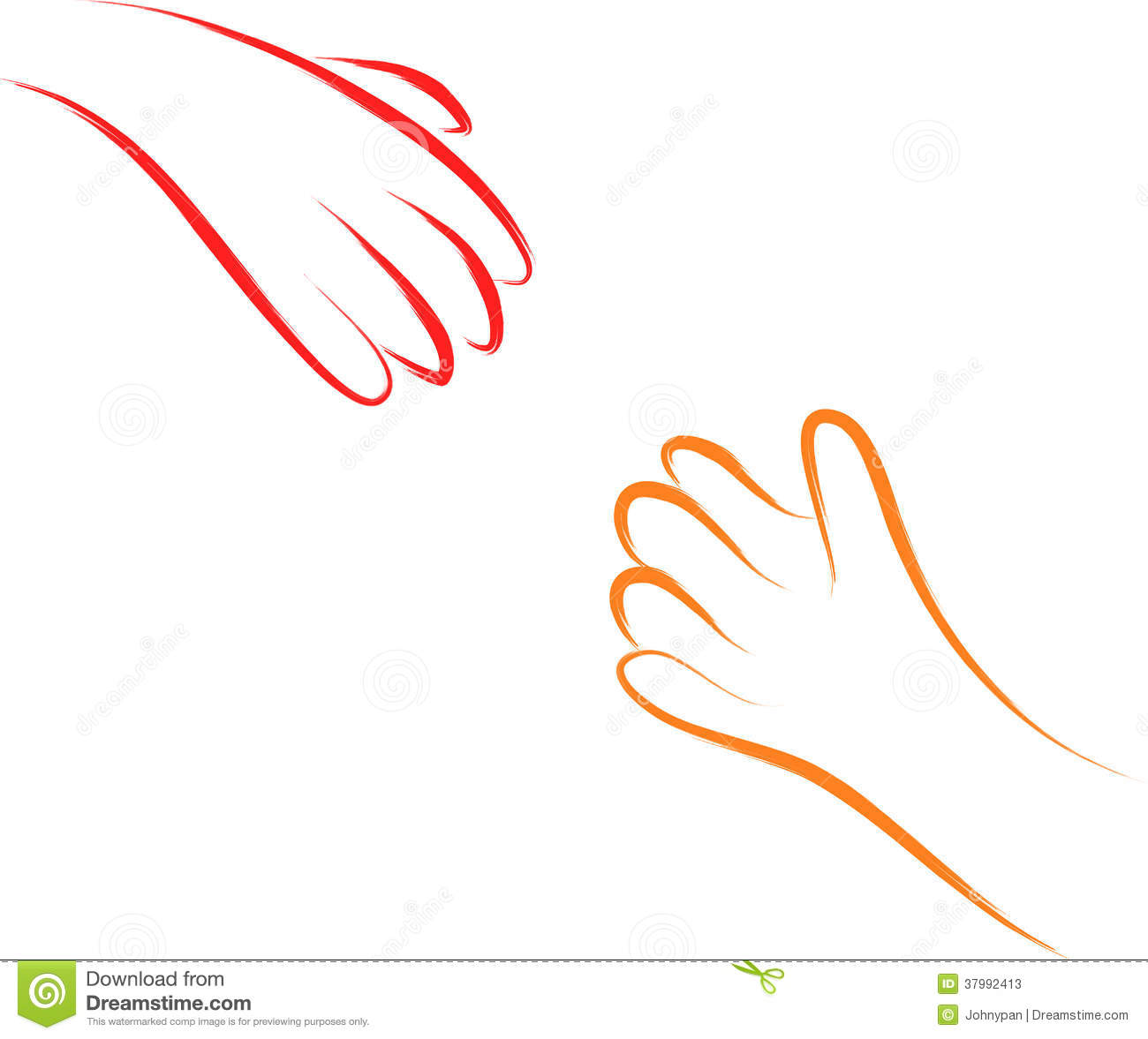 Helping Hands Stock Photos Image 37992413