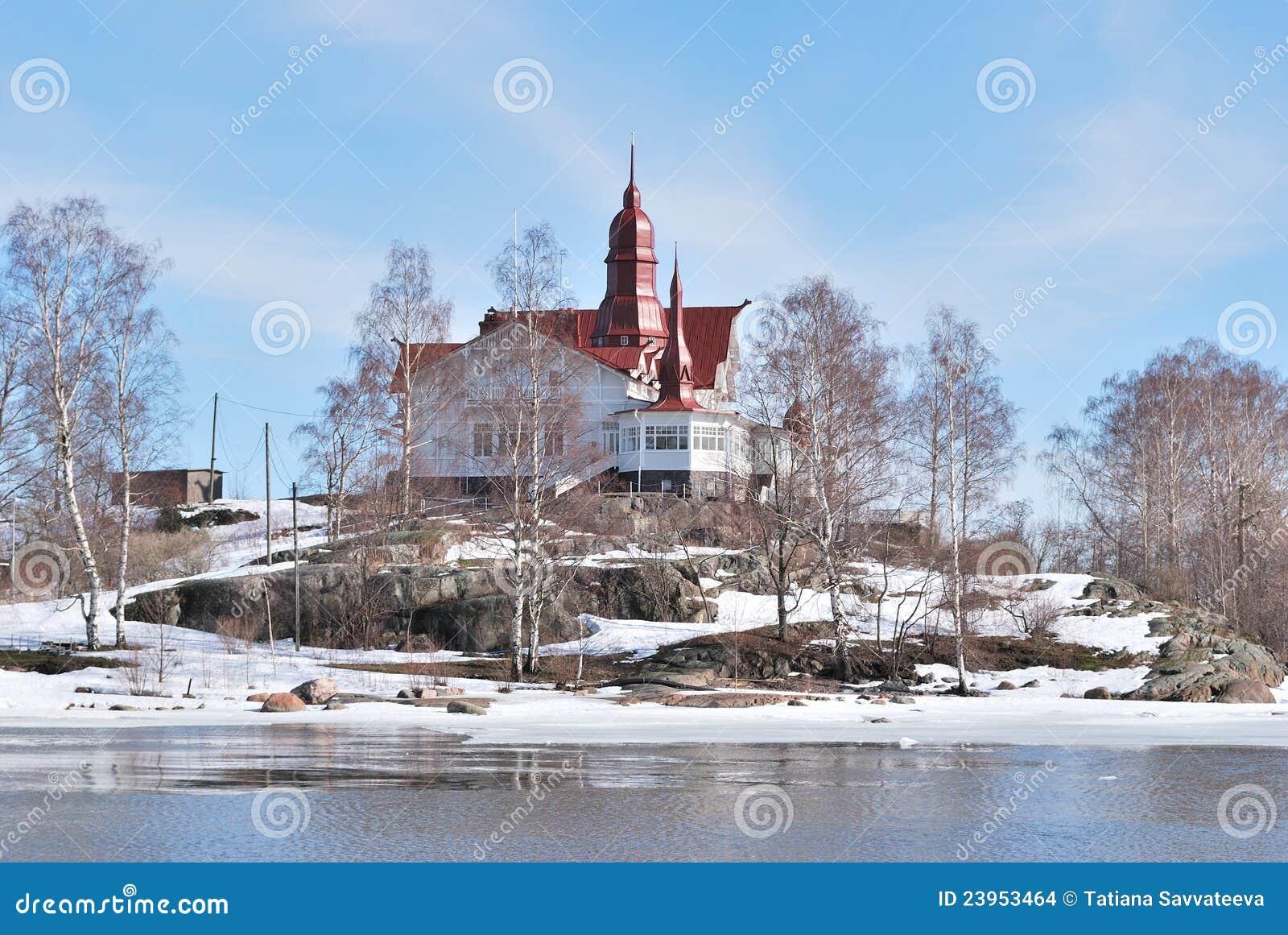 Helsinki. Île de Luoto