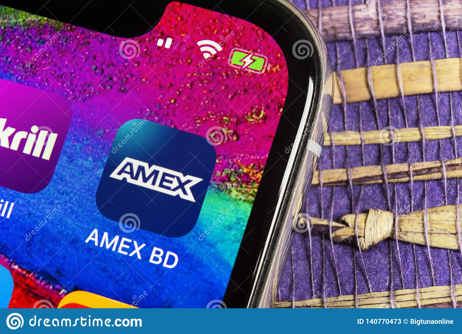 Amex Application Icon On Apple Iphone X Smartphone Screen Close Up Amex App Icon American Express Is An Online Electronic Financ Editorial Stock Photo Image Of Finland Editorial 140770473