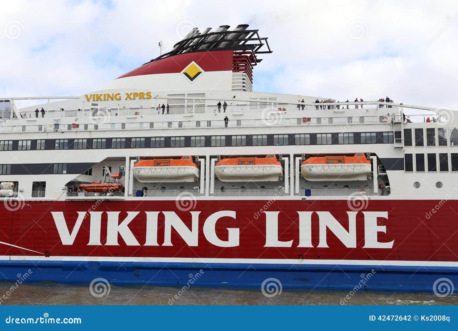 Helsinki, Finnland Fähre im Seehafen