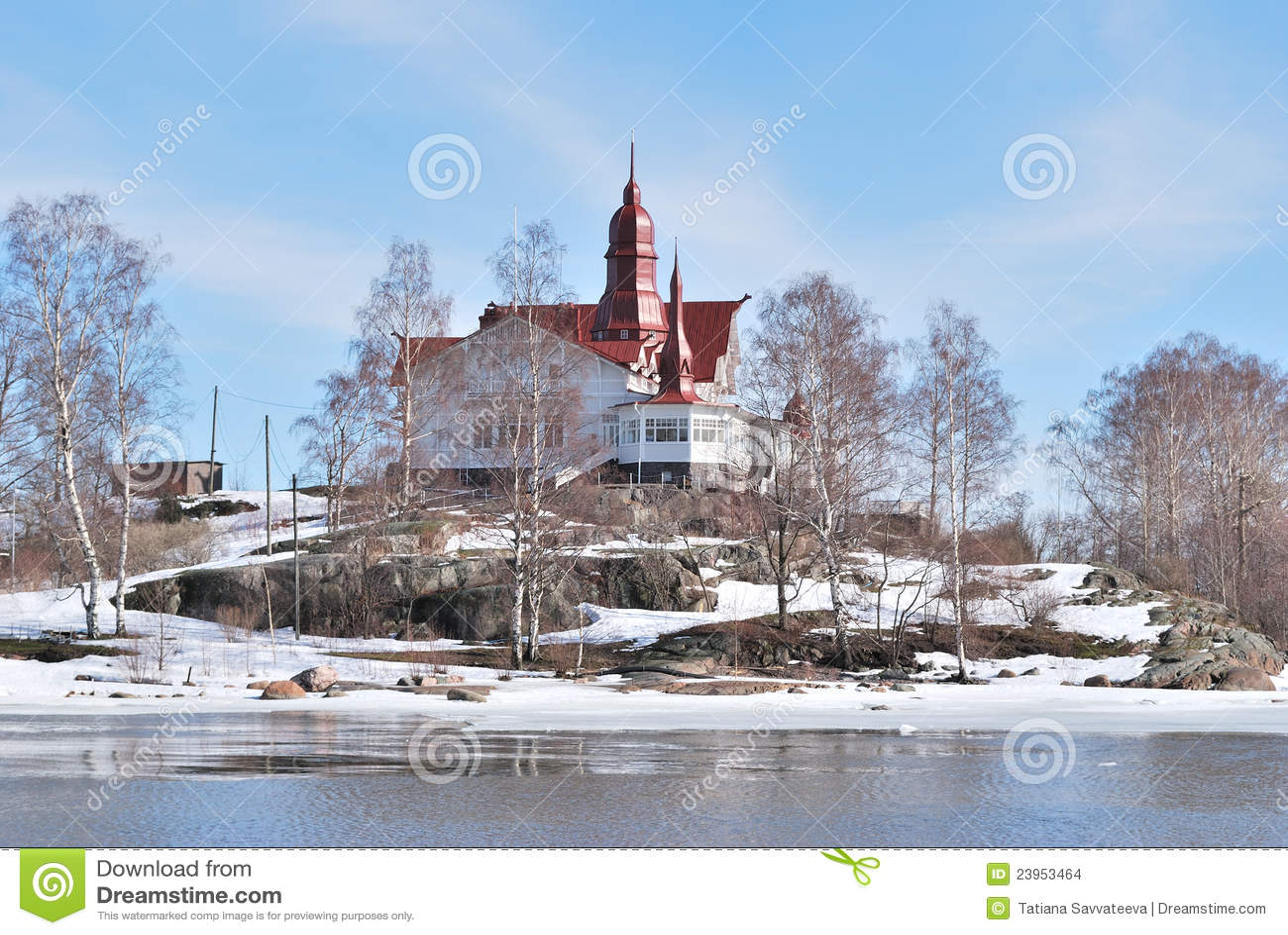 Helsinki. Isla de Luoto