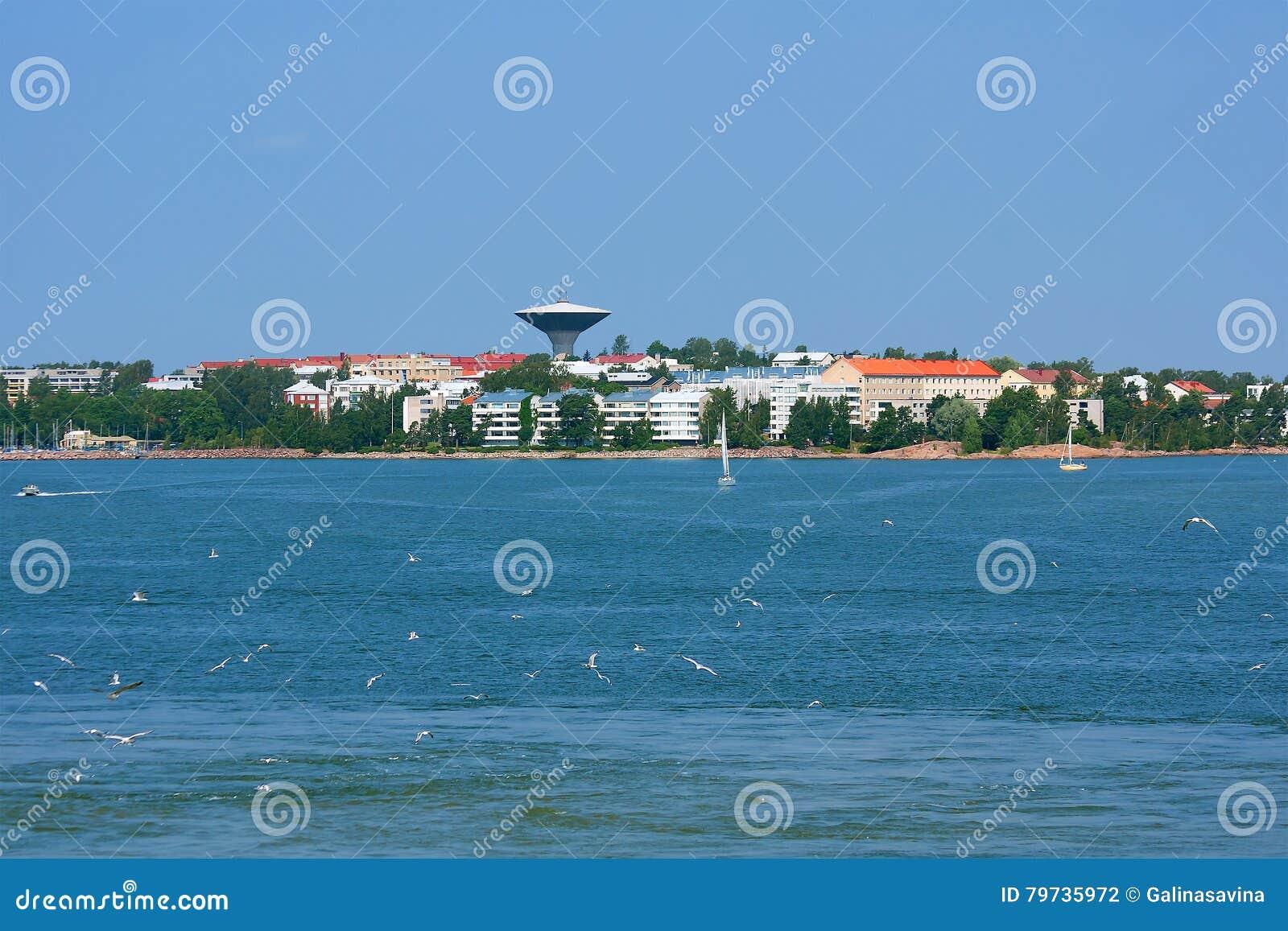 Helsinki La visión desde el mar