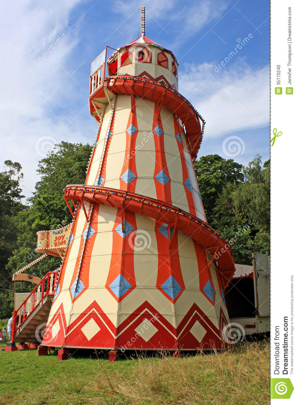 Helter Skelter Stock Photo Image Of Helter Carousel