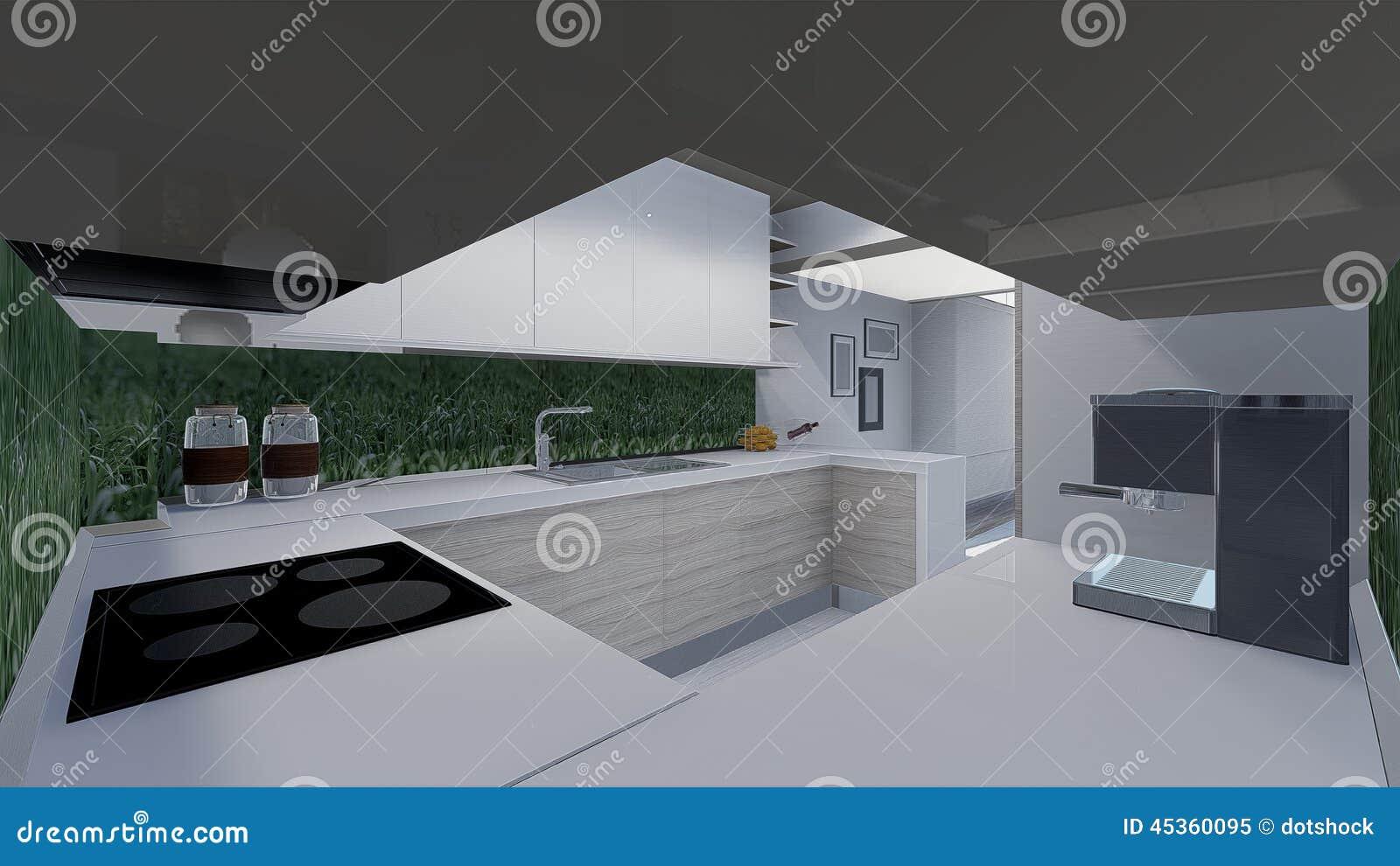 Hem  design 3d stock illustrationer   bild: 45360095