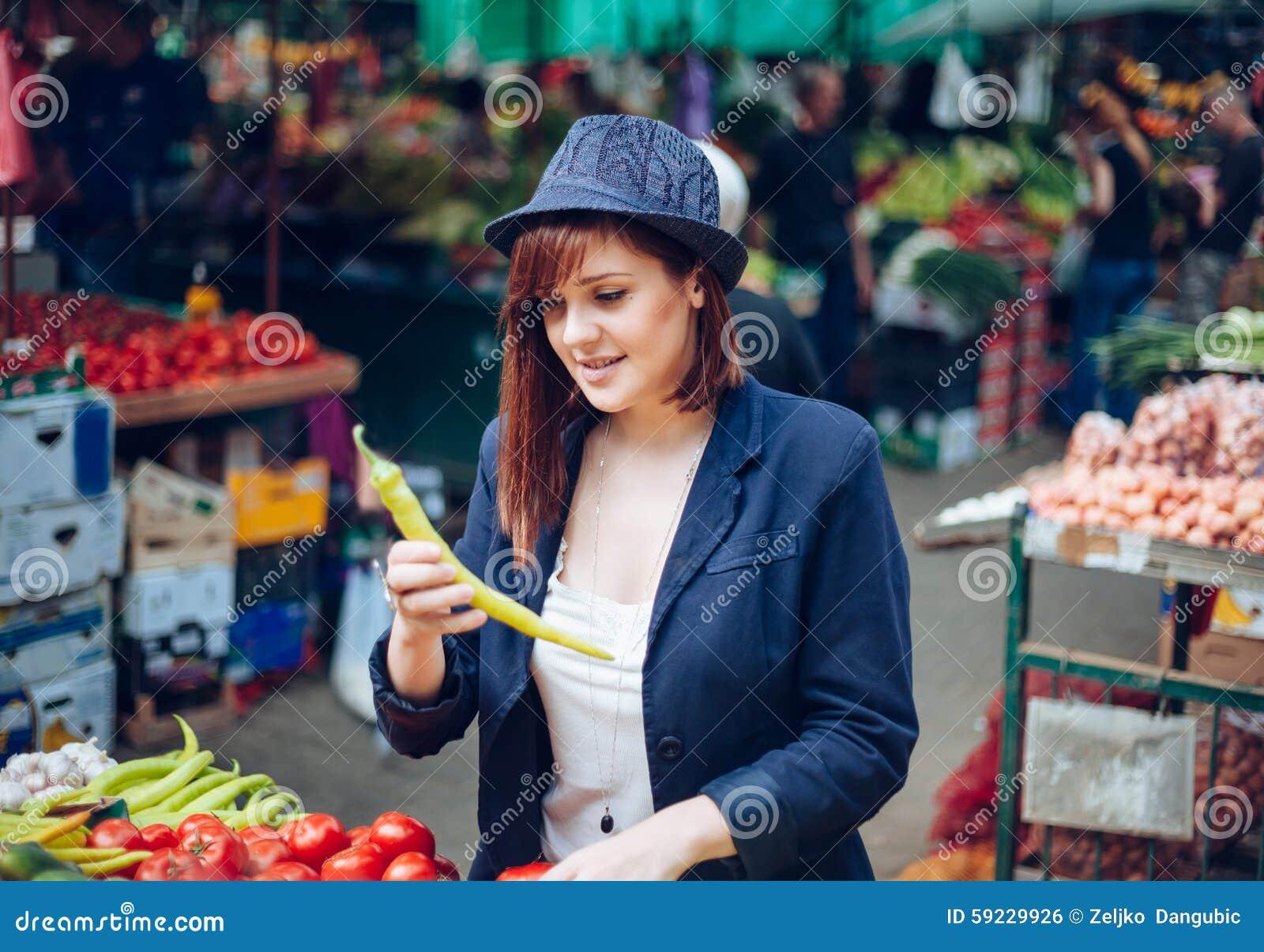 Hembra en Market Place