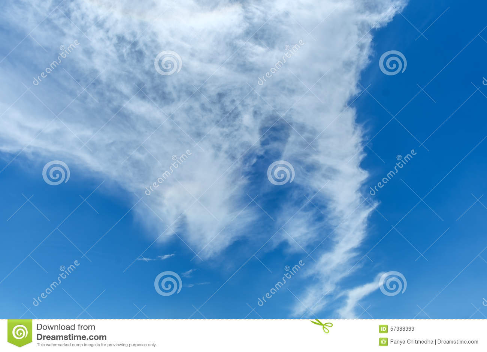 Hemel, de blauwe hemel
