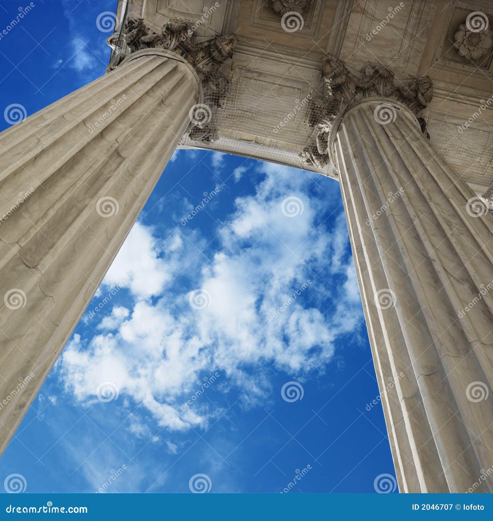 Hemel en kolommen