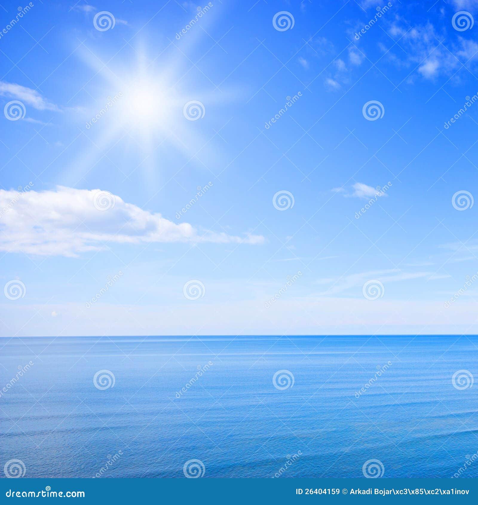 Hemel en oceaan