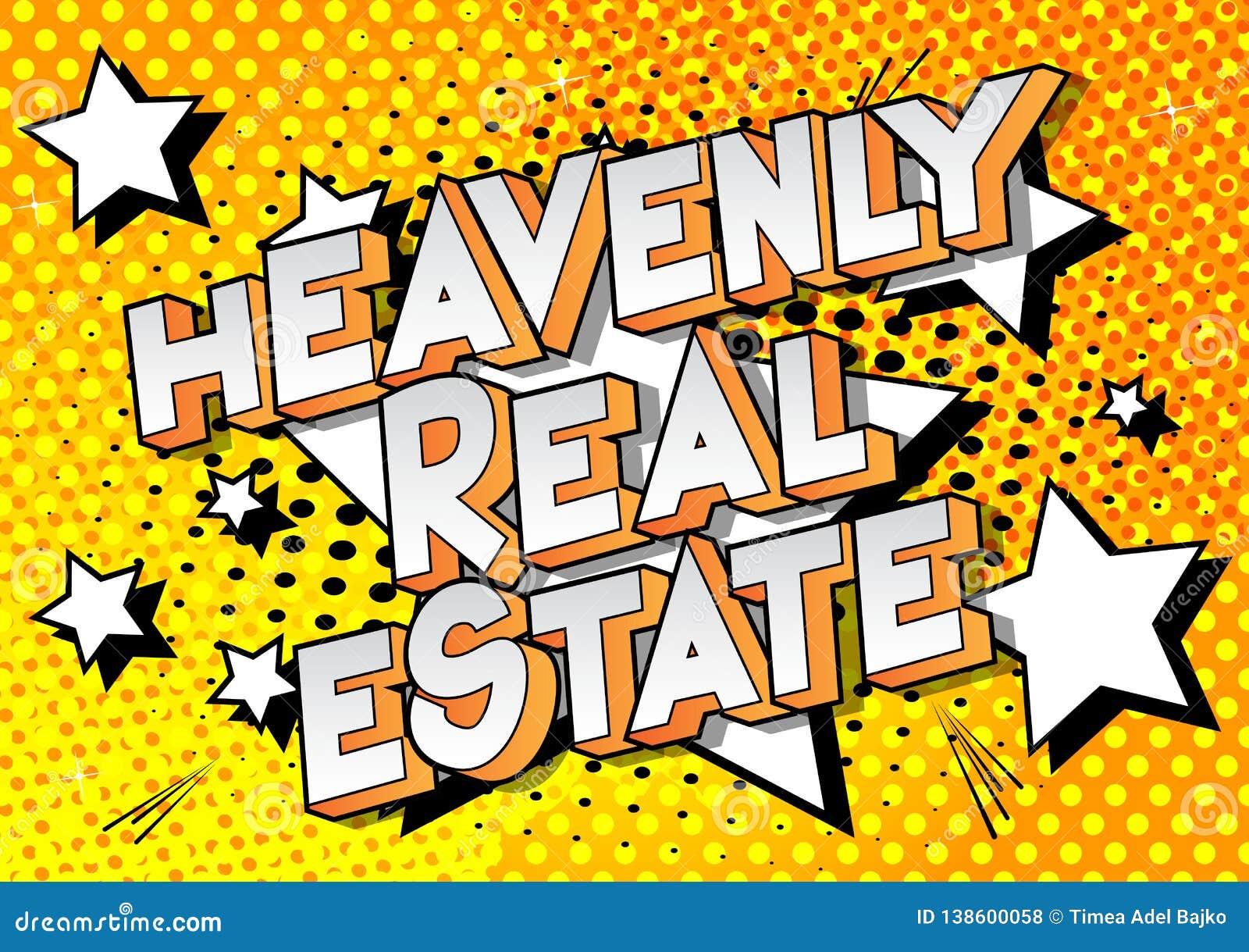 Hemels Real Estate - de Grappige woorden van de boekstijl