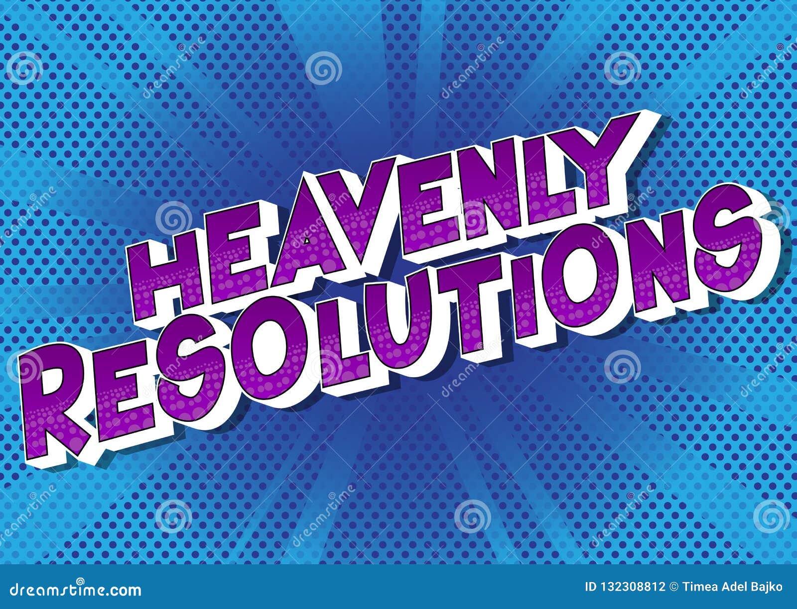 Hemelse Resoluties - de Grappige woorden van de boekstijl