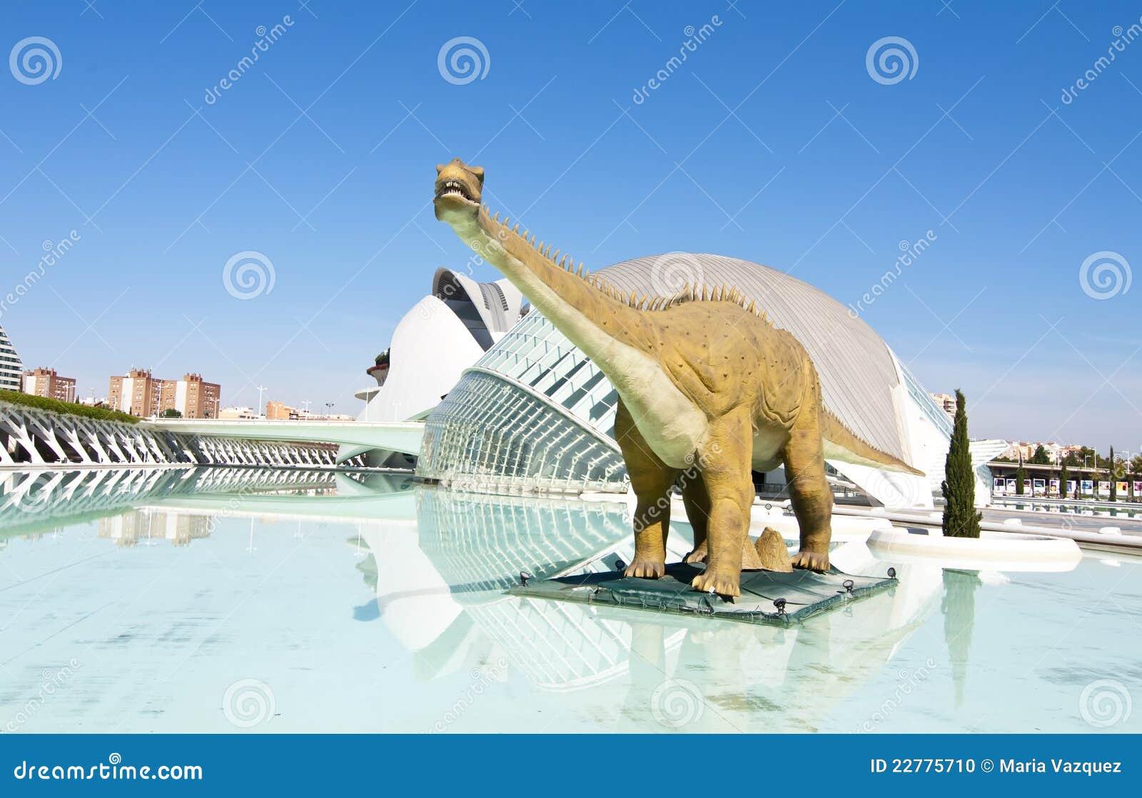 Hemisferic μοντέλο δεινοσαύρων
