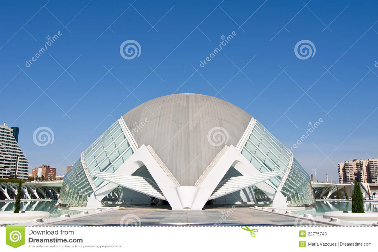 Hemisferic in the City of Arts and Sciences