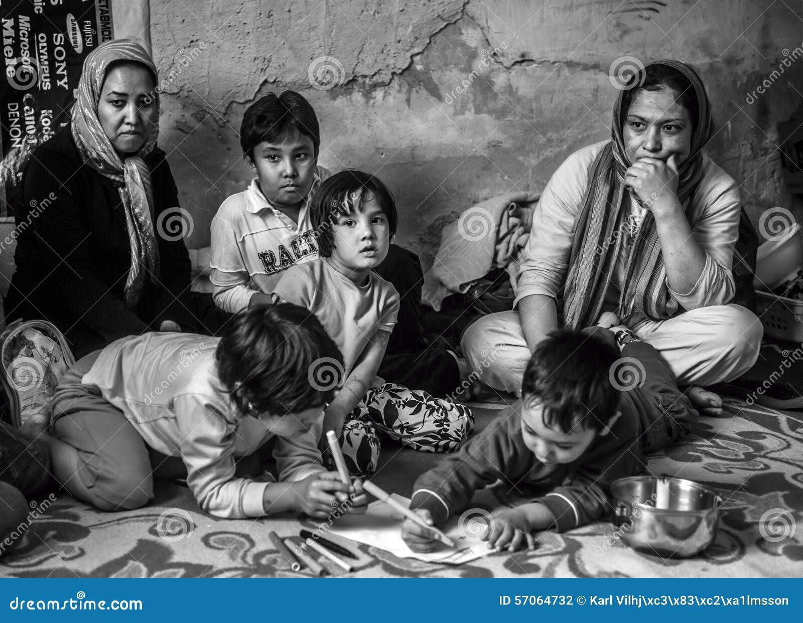 Hemlös flykting i Grekland