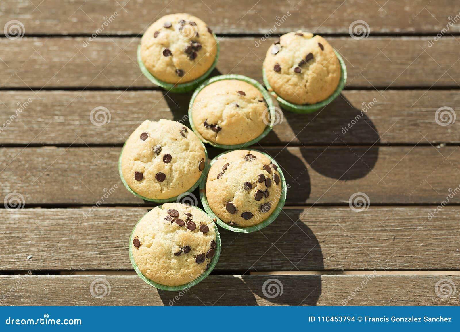 Hemlagade muffin med naturprodukter