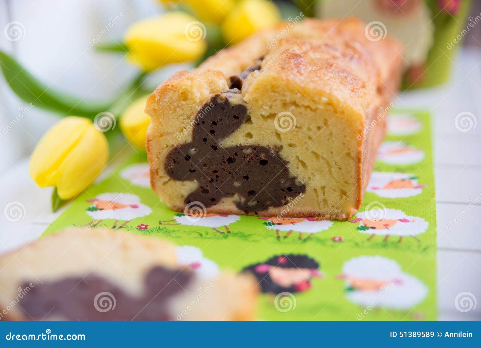 Hemmet gjorde påsken Bunny Cake