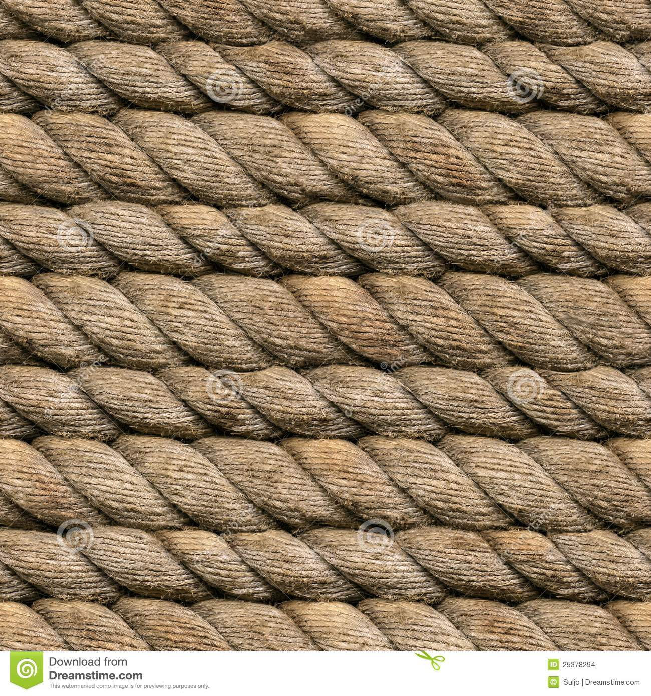 Hemp Rope Seamless Stock Images Image 25378294