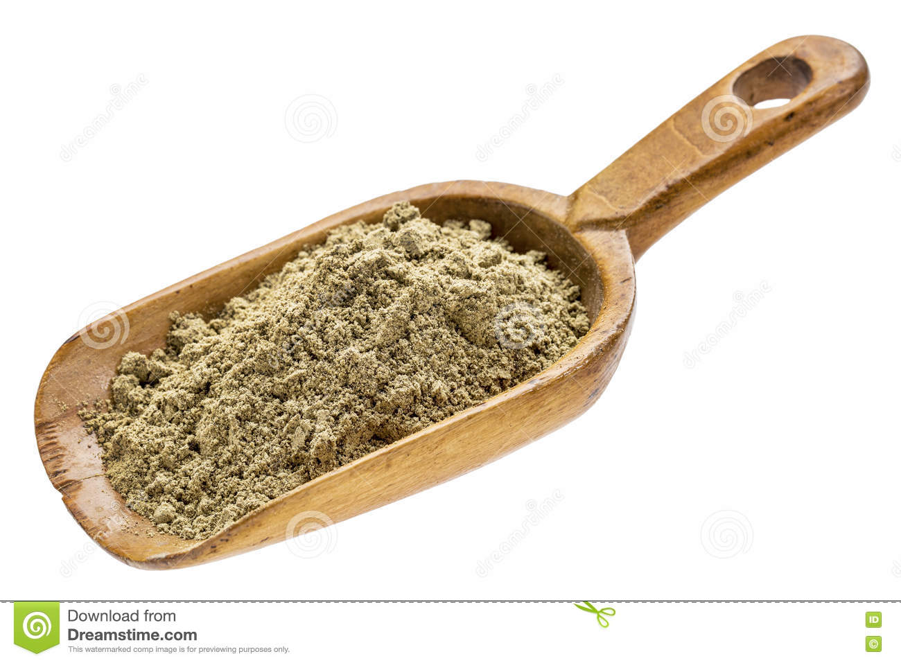 Hemp Seed Protein Powder Stock Image Image Of Wood Supplement 77275341