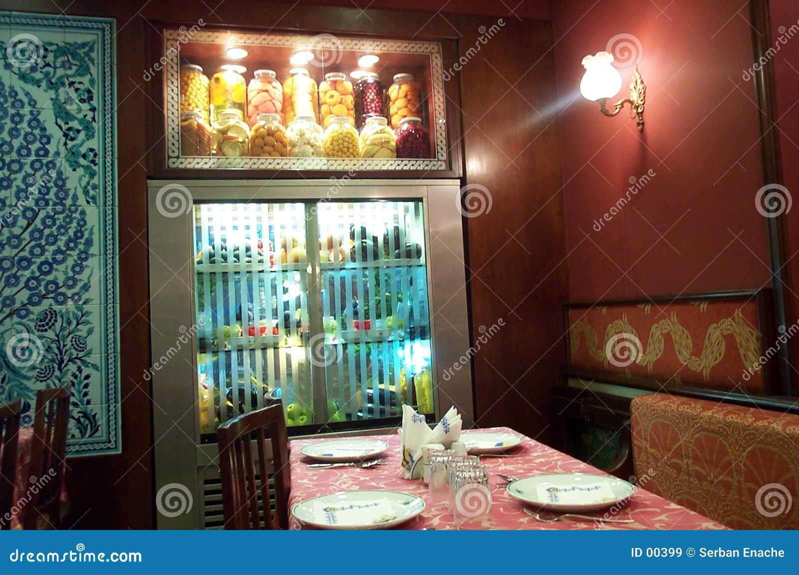 Hemtrevlig restaurang