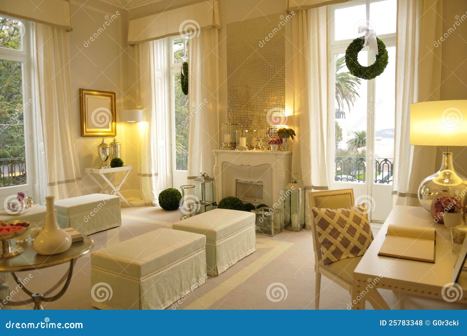 Hemtrevligt vardagsrum