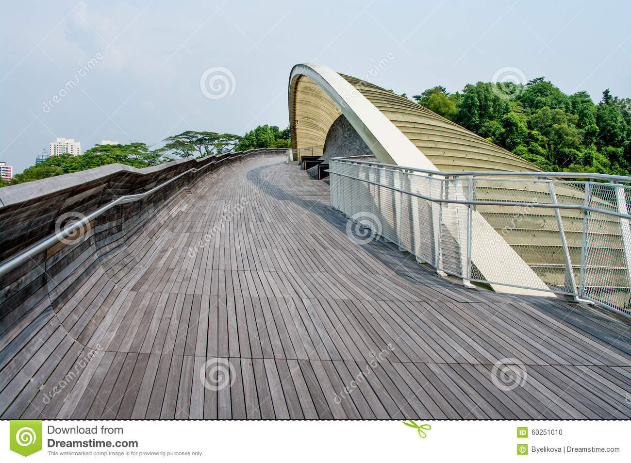 Henderson waves is the highest pedestrian bridge in for Design bridge singapore