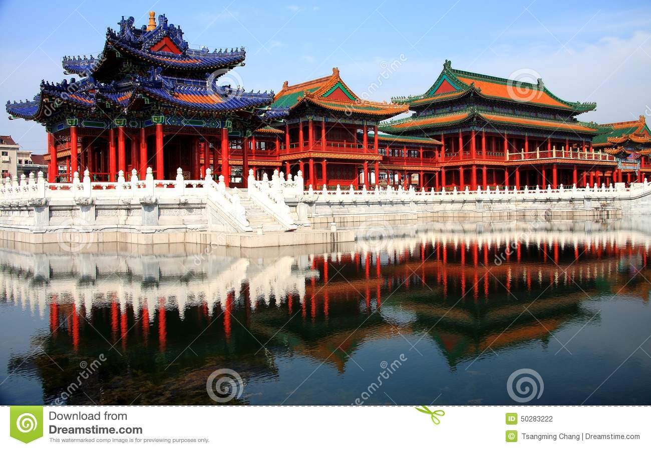 Hengdian movie and Television City, is a collection of movie and TV ...