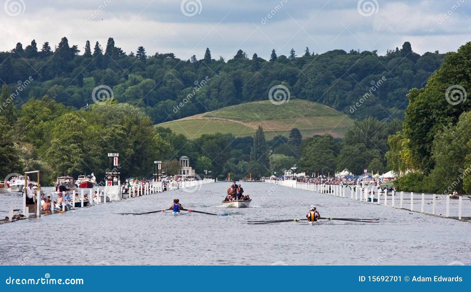Henley种族赛船会划船