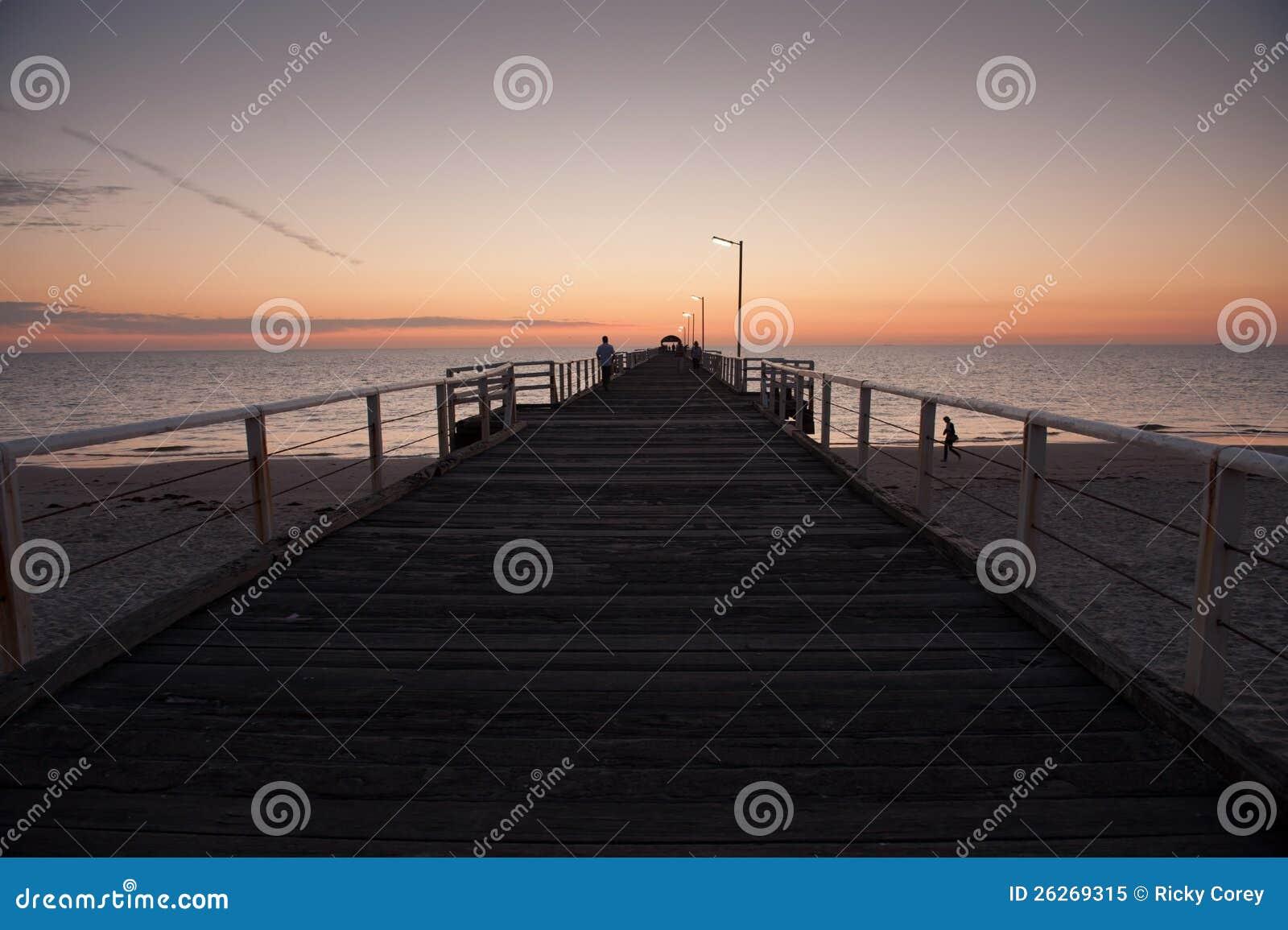 Henley Beach Sunset