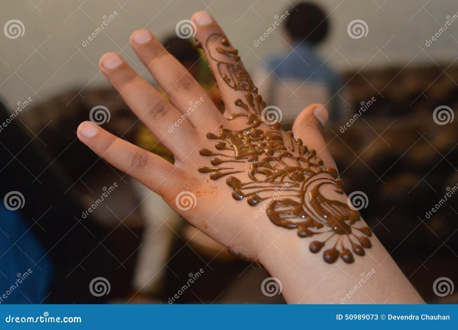 Henna σχέδιο