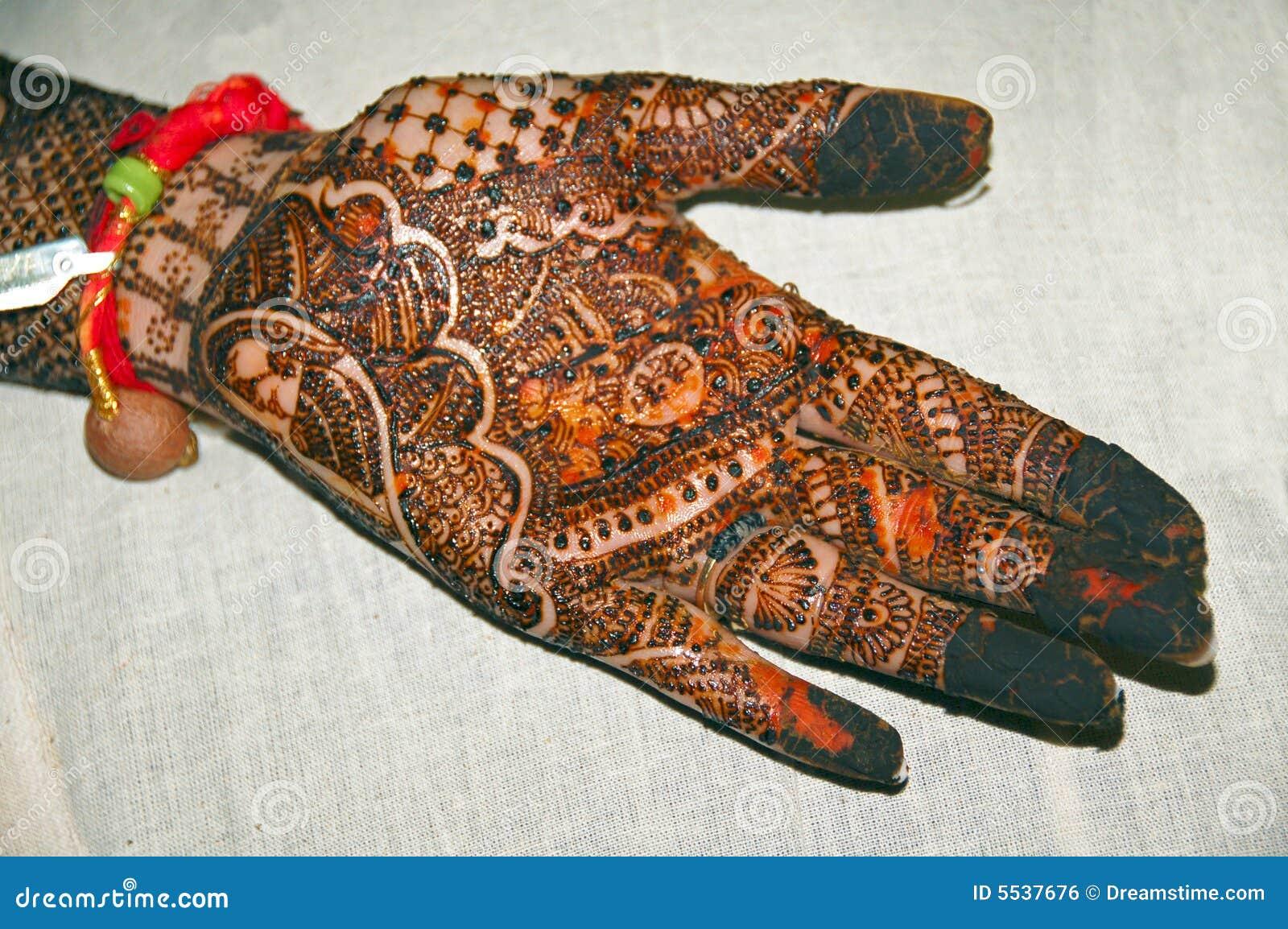 Henna χεριών δερματοστιξία