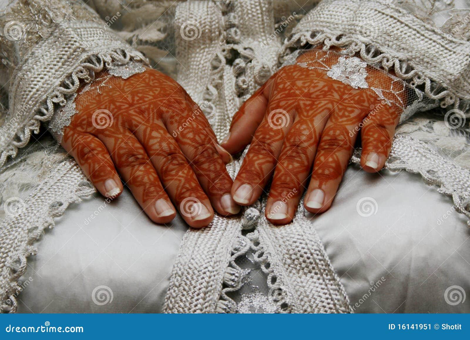 Henna Hands Stock Image Image Of India Celebration 16141951