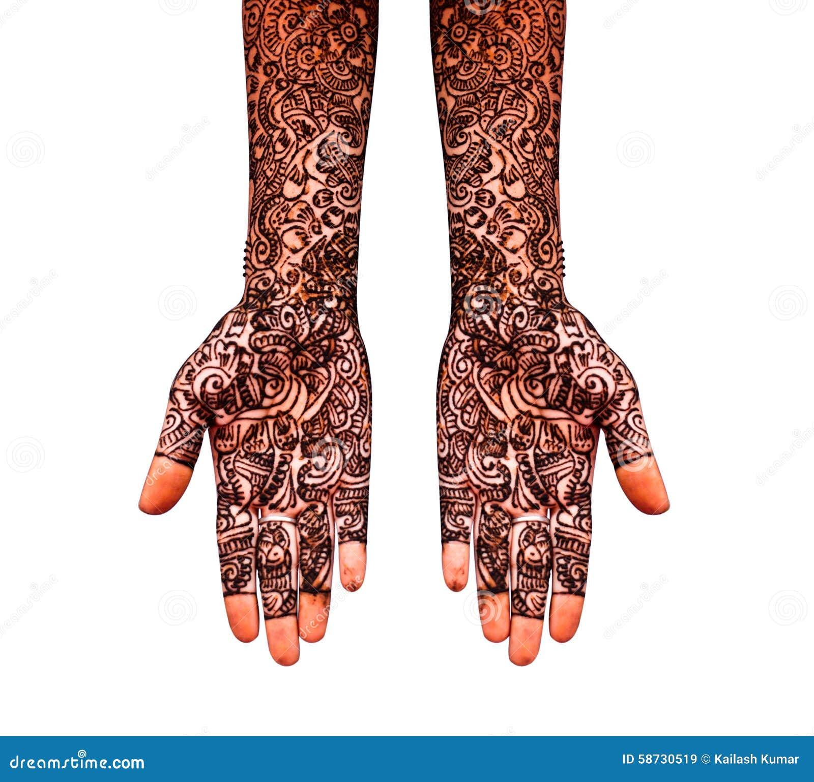 Henna Tattoo Imagen De Archivo Imagen De Union Novia 58730519