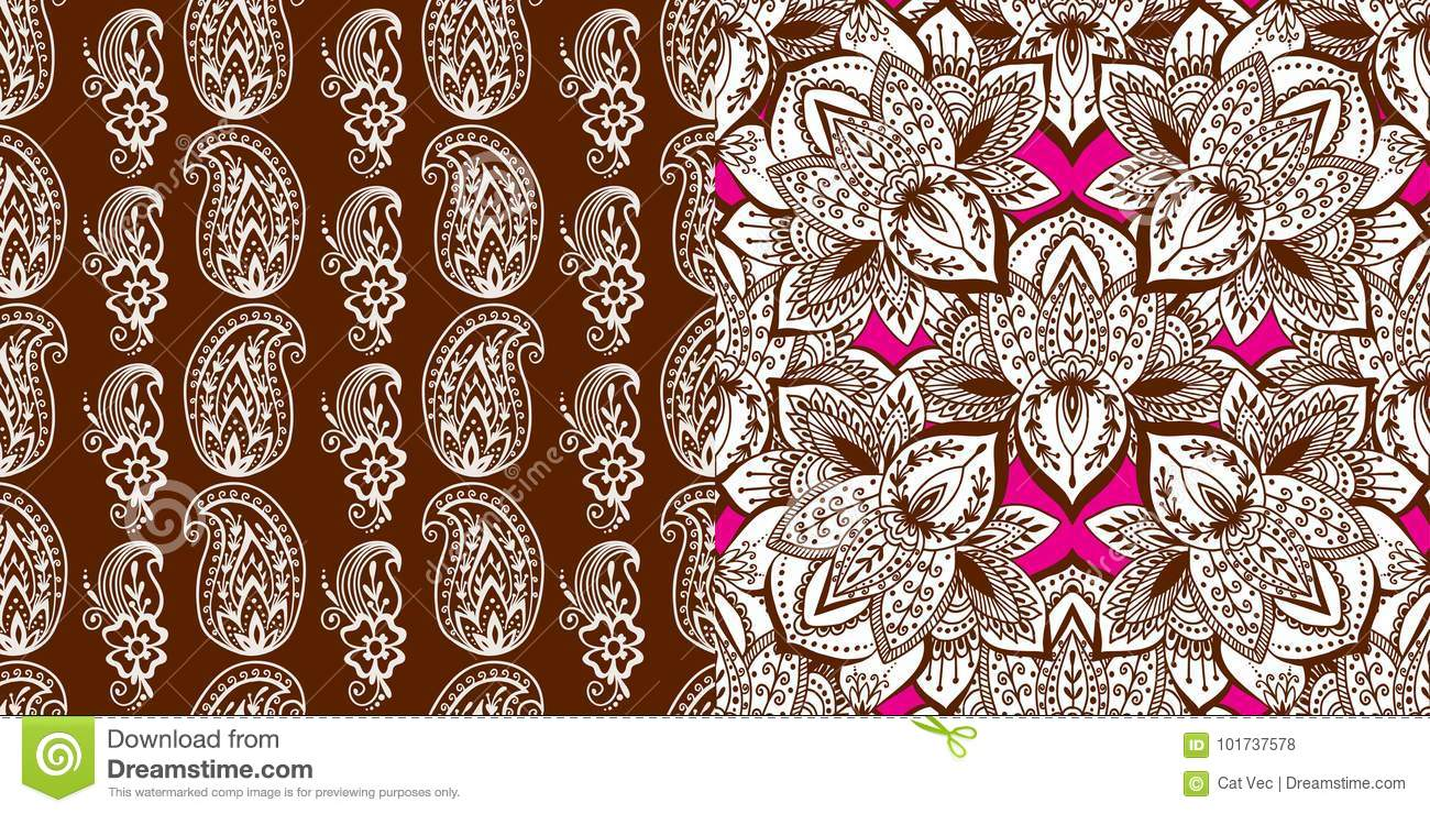 Mehndi Tattoo Flower Designs : Henna tattoo mehndi flower doodle ornamental decorative indian